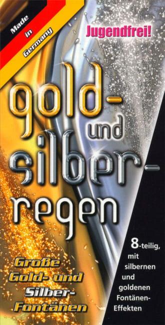 Gold und Silberregen Fontäne