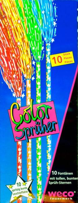 Color Sprüher Kinderfackeln