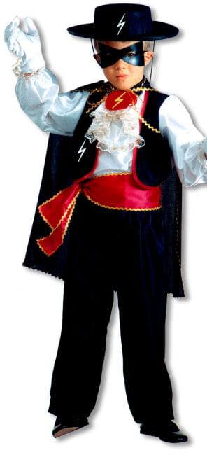 Zorror Child Costume M
