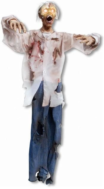 Lifesize Zombie Hanging Figure