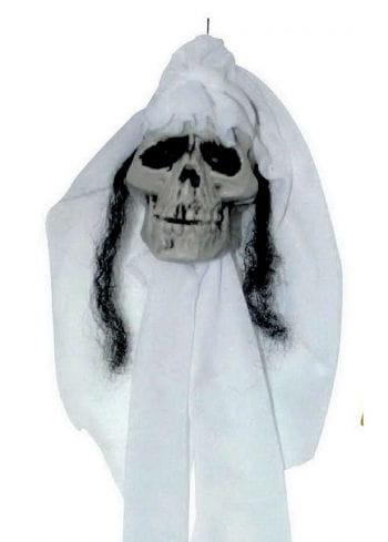 Hängeschädel Skull Braut