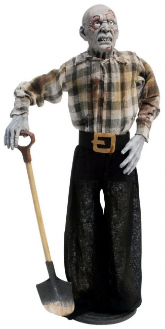Zombie Rave Digger Standfigur