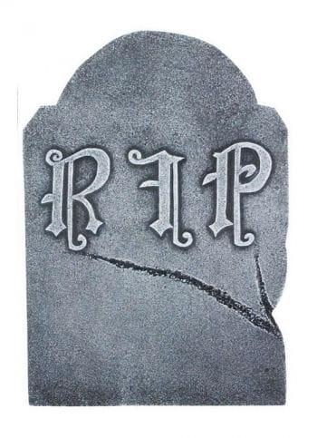 Cracked Halloween Tombstone