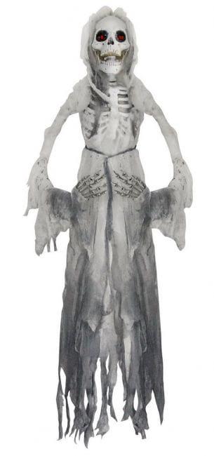 Skelett Braut Hängefigur 160 cm
