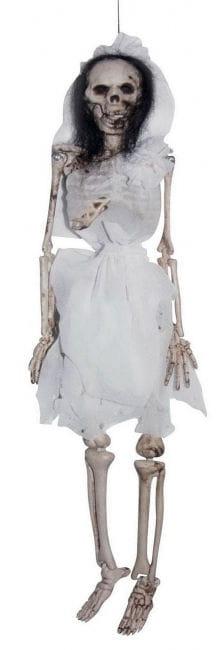 Skelett Braut Hängefigur