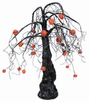 Horror Baum mit Kürbis