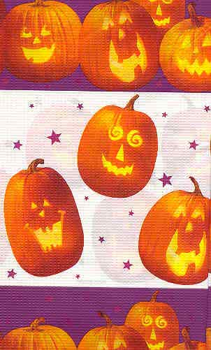 Pumpkin Table Cloth
