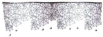Spinnweben Vorhang mit Spinnen