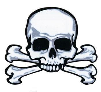 Piraten Tattoo Skull & Bones