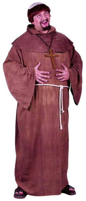 Kloster Mönch Kostüm XL