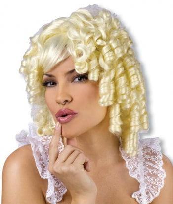 Goldmarie Lockenperücke Blond