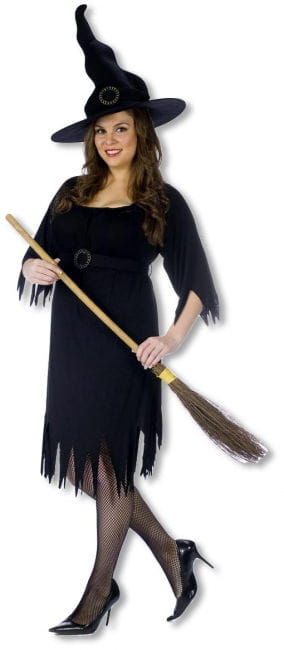 Black Magic Witch Plus Size