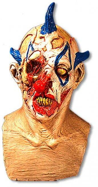 Demonic Punk Clown Mask