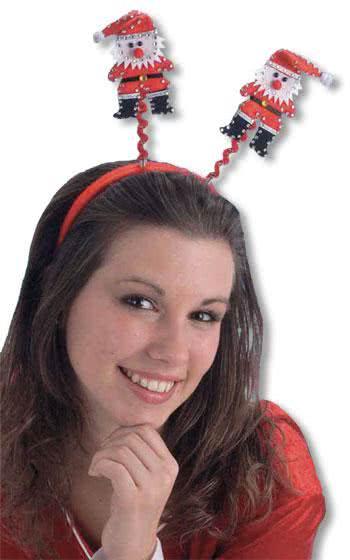 Red Father Christmas Headband