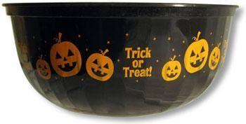 Schwarze Halloween Schüssel