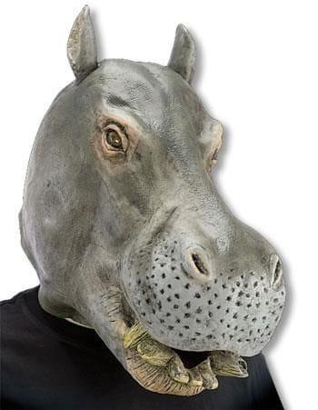 Hippopotamus Mask