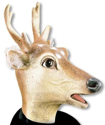 Rehbock latex mask