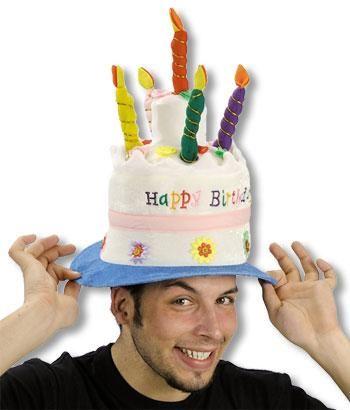 Geburtstagstorten Hut