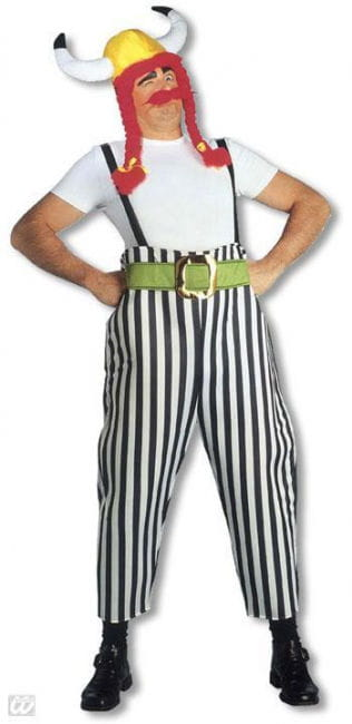 Dicker Gallier Kostüm L