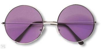 Violette 70er Sonnenbrille