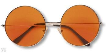 Orange 70s Sunglasses