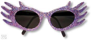 Space Jam Glitter Sonnenbrille Violett