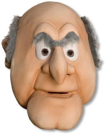 Muppets Statler Deluxe Mask