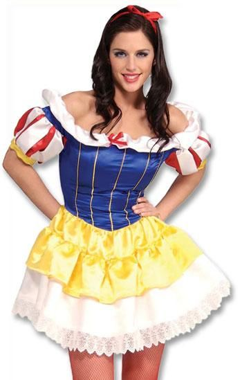 Lovely Snow White costume S