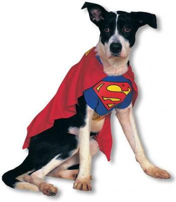 Superman Hundekostüm L