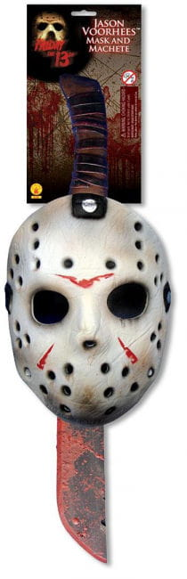 Jason Machete and Mask Set