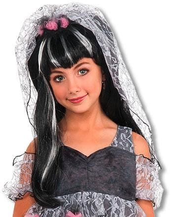 Monster Bride Child Wig