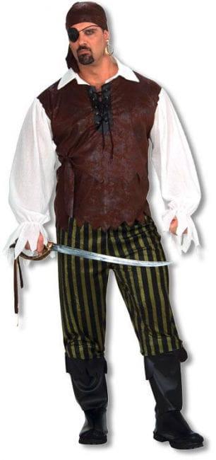 Verwegener Pirat Kostüm XL