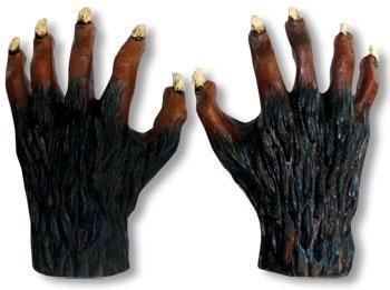 Werewolf Hands Latex Deluxe
