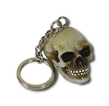 Schlüsselanhänger Totenkopf
