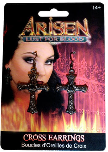Gothic Cross Earrings
