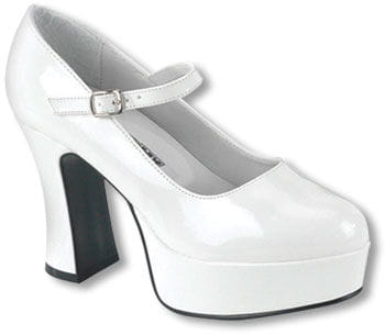 Mary Janes Pumps White Gr. 40/42
