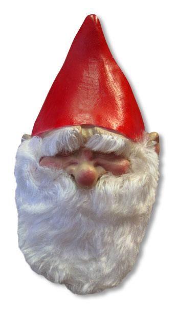 Garden gnome mask