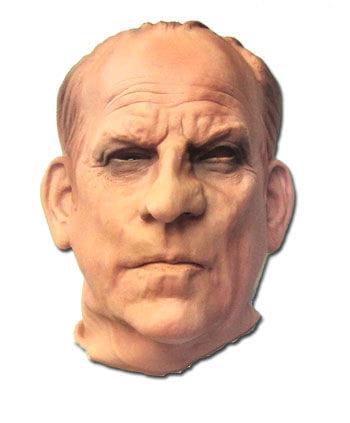 Banker Maske aus Schaumlatex
