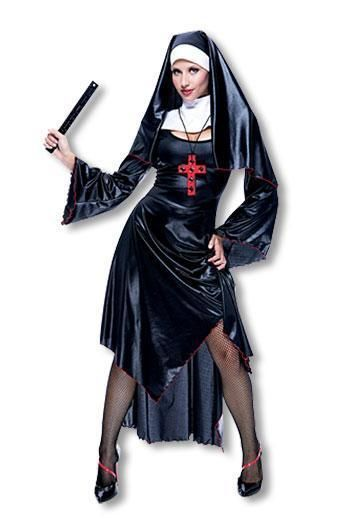 Sexy Nonnen Kostüm L