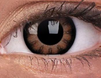 Manga Kontaktlinsen braun