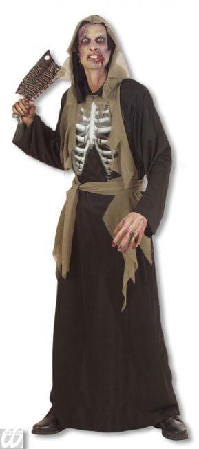Zombie Skelett Kostüm XL