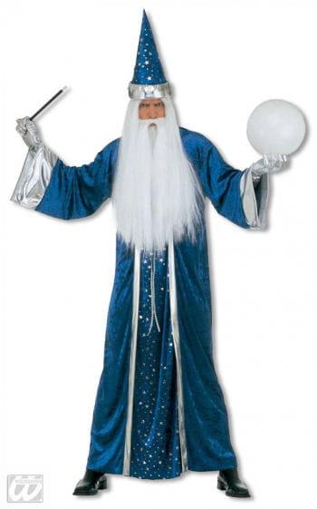 Zauberer Kostüm Blau L