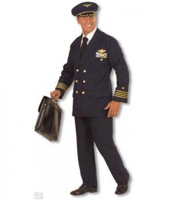 Piloten Kostüm XL