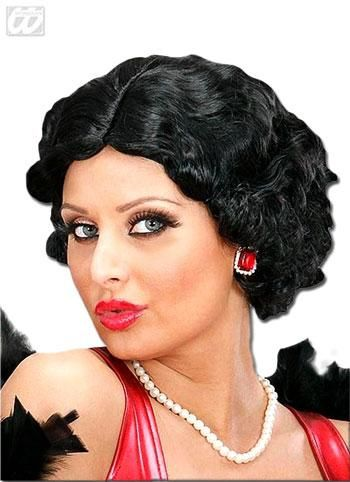 30s wig Betty Black