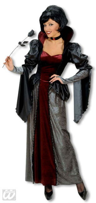 Dunkle Königin Kostüm Deluxe Large