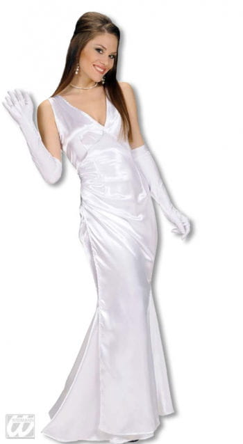 Evening Dress White S