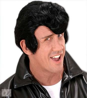 Rockabilly Wig Black