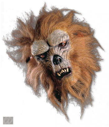 Lauernder Werwolf Halbmaske