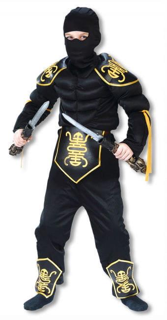 Ninja Krieger Kinderkostüm L