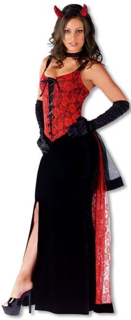 Gothic Rosenteufel Kostüm SM